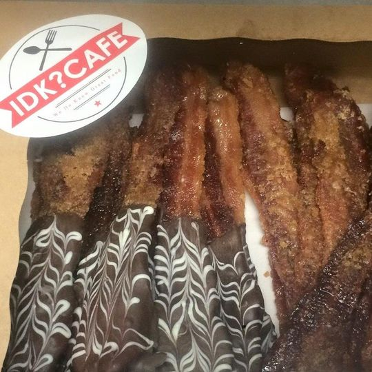 Chocolate candy bacon