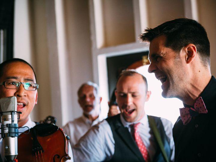 Tmx 1517446435 72e63c0fef0c4ed9 1517446432 Bde6a4cebbb9681f 1517446399483 12 RussMarcWedding 5 Seattle wedding band