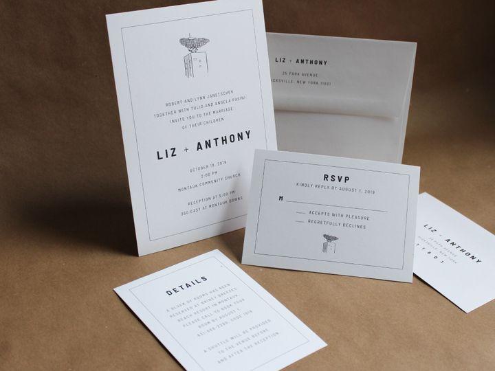 Tmx Modern Invitation Suite 51 1949247 158397268428086 Hoboken, NJ wedding invitation