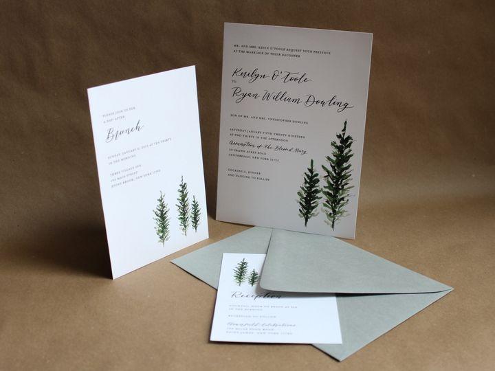 Tmx Pine Tree Wedding Invitations 51 1949247 158397263838974 Hoboken, NJ wedding invitation
