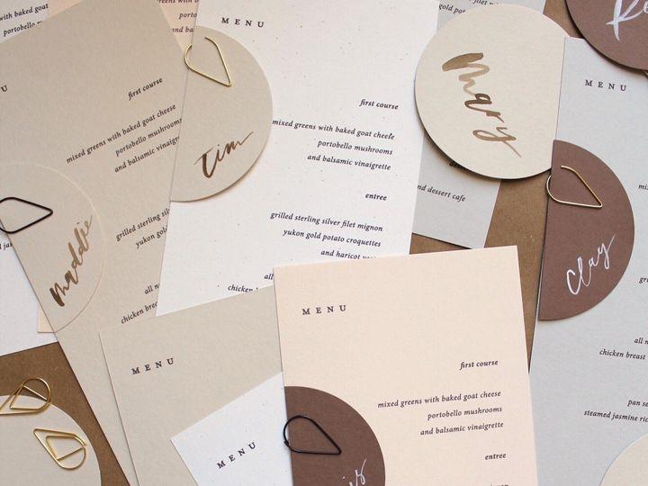 Tmx Wedding Menus Place Cards 51 1949247 158422222053222 Hoboken, NJ wedding invitation