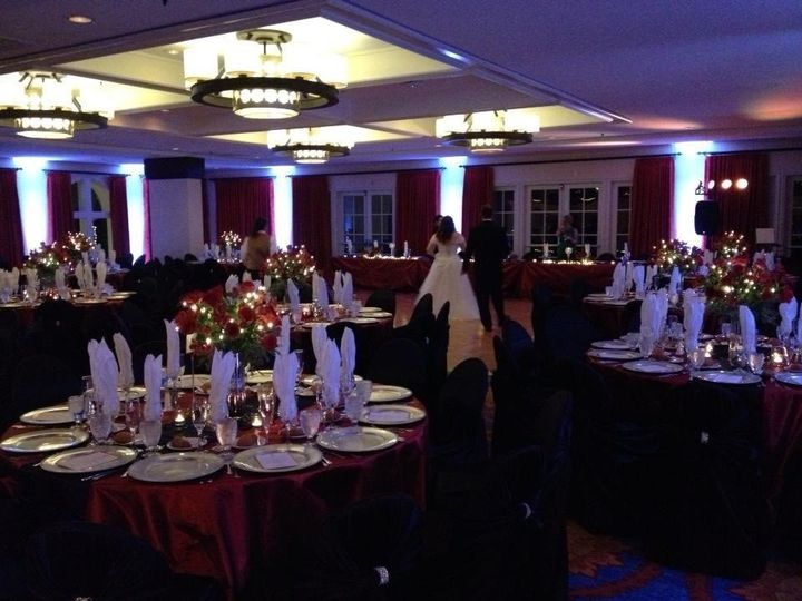 La Costa Resort event with up lighting