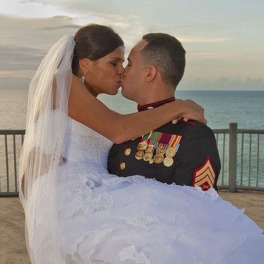 Love by the sea in puerto rico