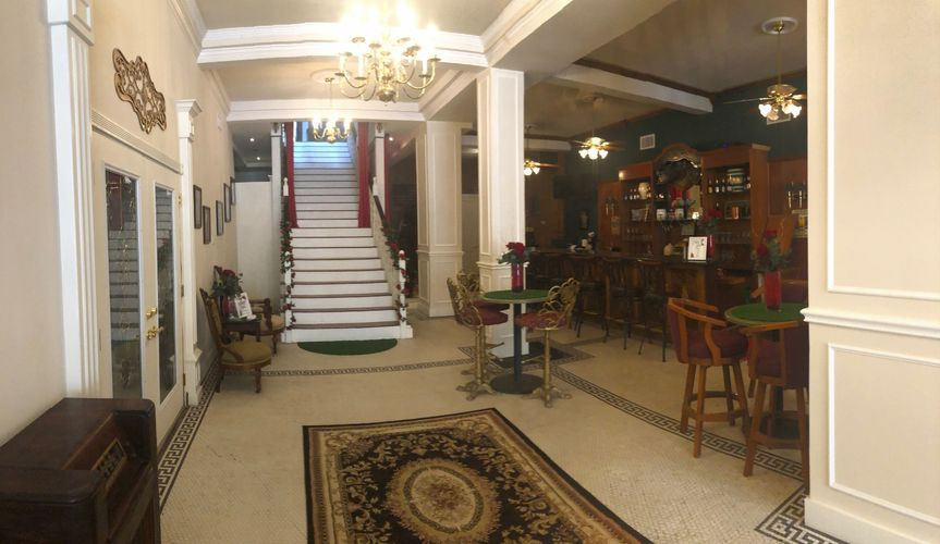 Lobby and grand staircase