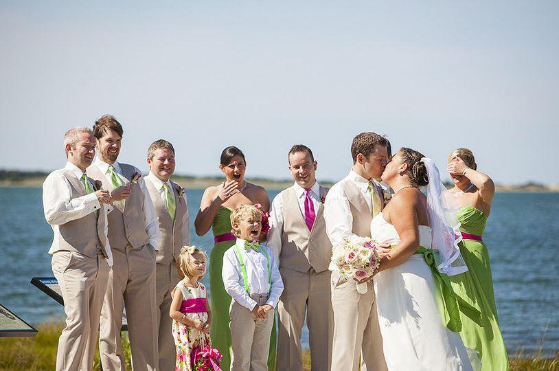 mashpee audubon wedding ceremony