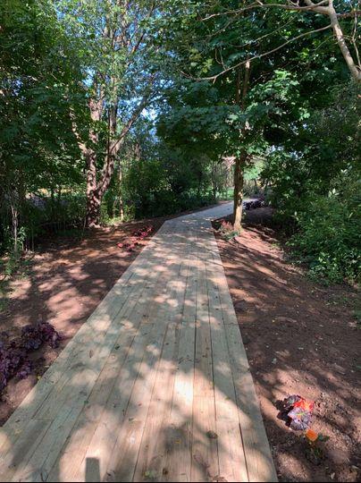 Boardwalk to Secret Garden