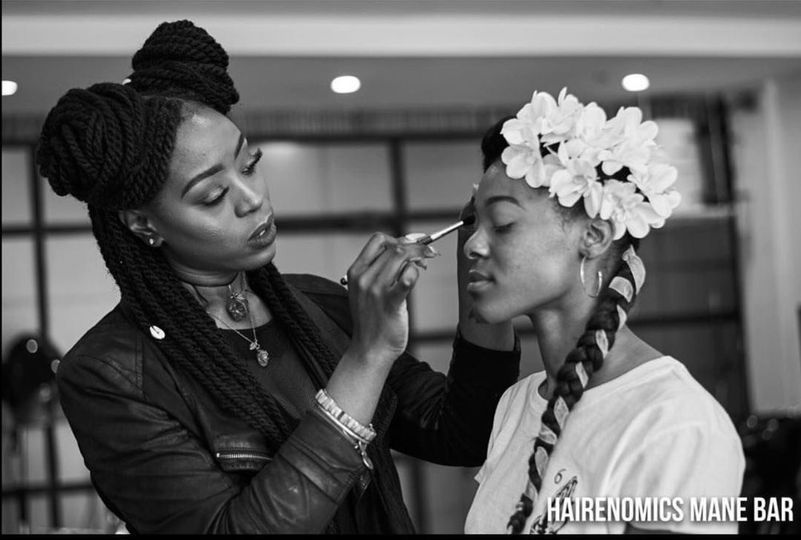 Shunda keying a bridal shoot