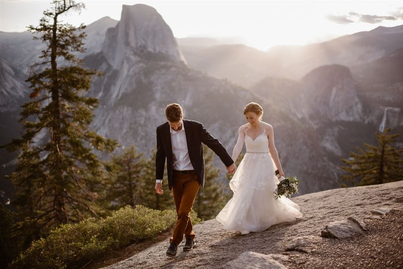 Meg & Kev Hiking