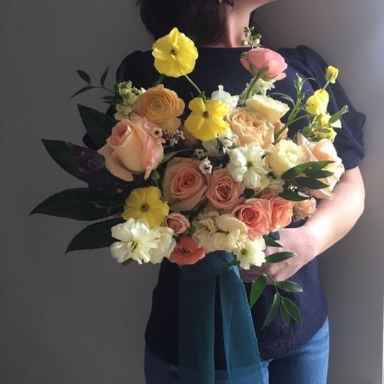 Bunches of beautiful blooms