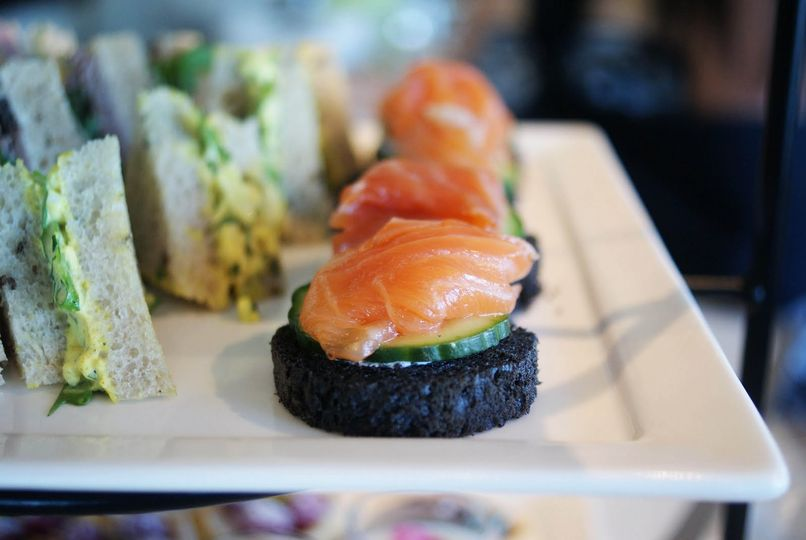 london tea smoked salmon