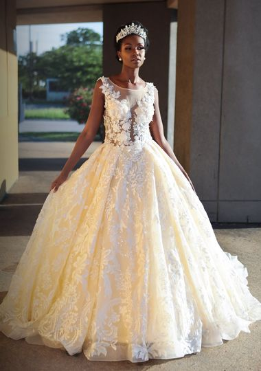 Traditional ball gown