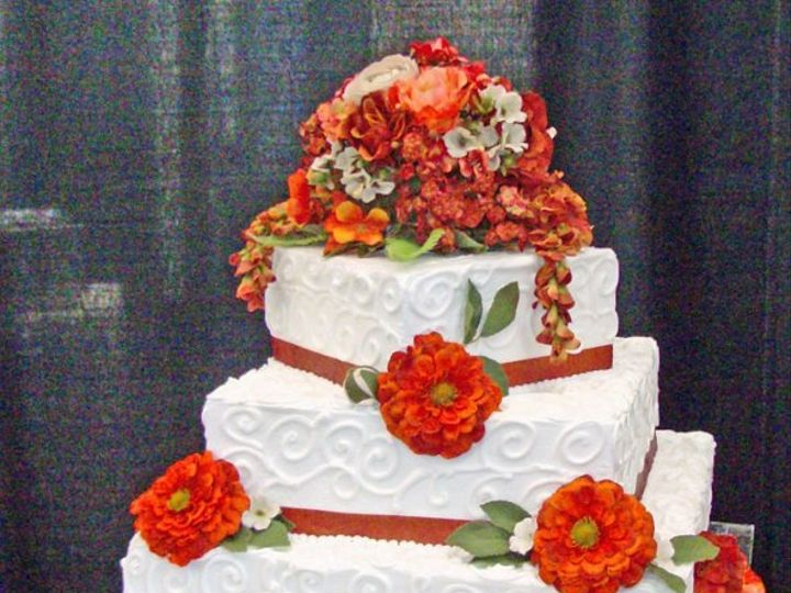 Tmx 1203354651735 LakeHouston1 Spring wedding cake