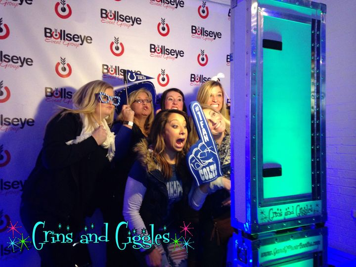 Open Air Photo Booth is great for group photos