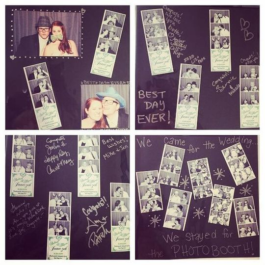 Guestbook are a great way to relive the fun