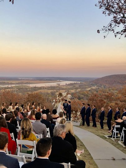 A stunning backdrop to your ceremony