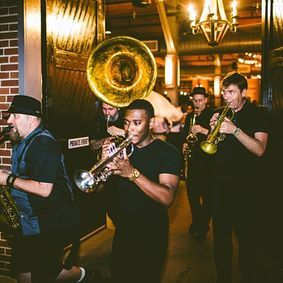 2nd String Brass Band exit