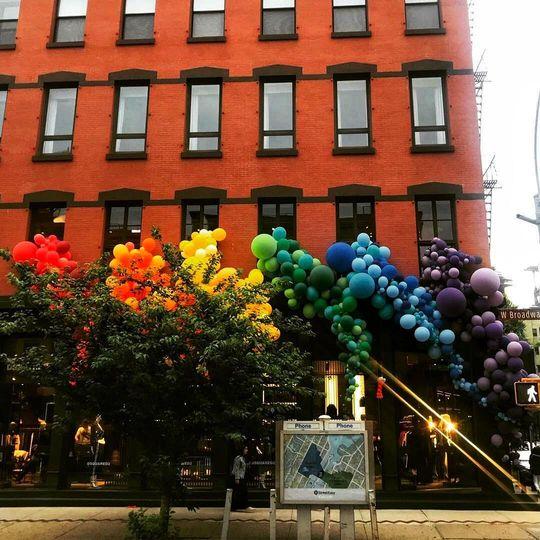 Outdoor Balloon Display