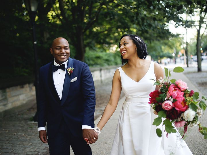 Tmx Lili And Jamal Laughing 51 780447 Brooklyn, NY wedding florist