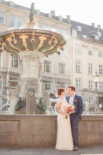 A wedding in Copenhagen