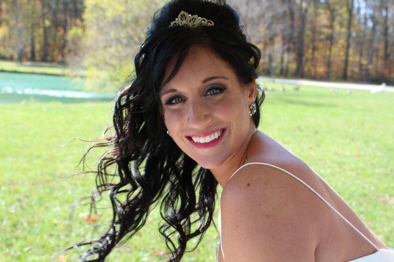 Bride at Holistic Horse Farm