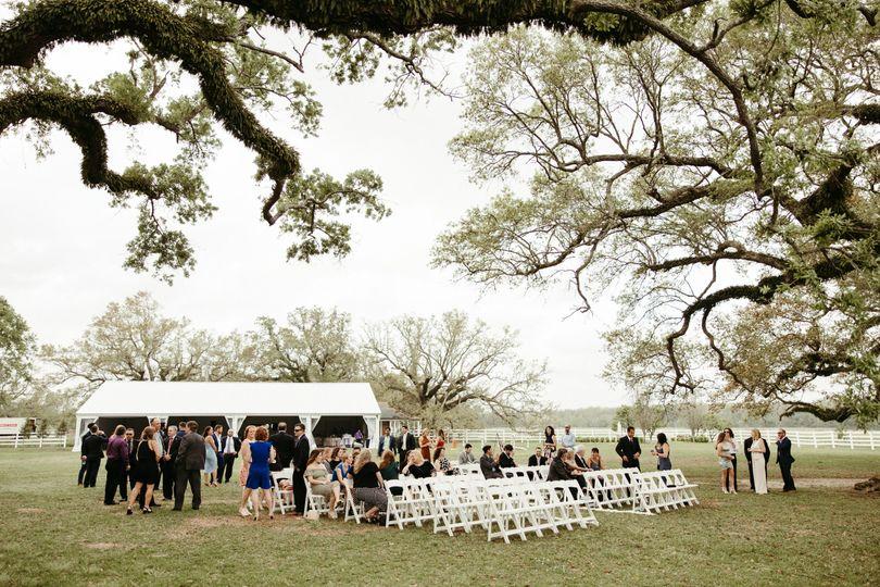 Ceremony at Lazy Tree
