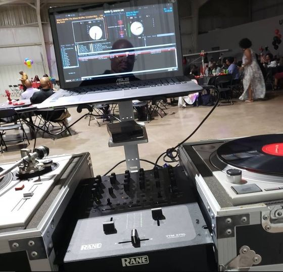 The turn tables