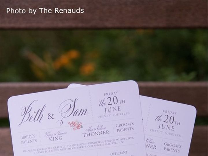 Tmx 1467157502636 Bethsamwedding 700 Lexington wedding invitation
