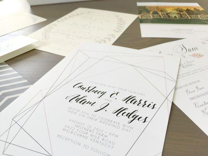 Tmx 1467157512898 Img6629 Lexington wedding invitation