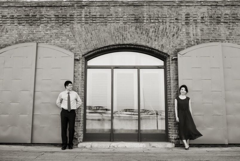 Couple creative shot