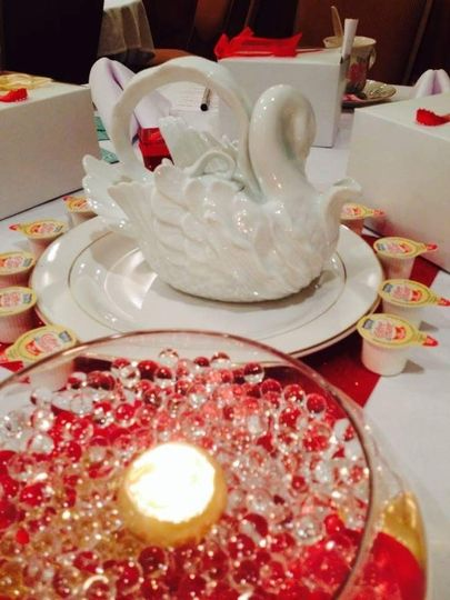 Table display - tea party