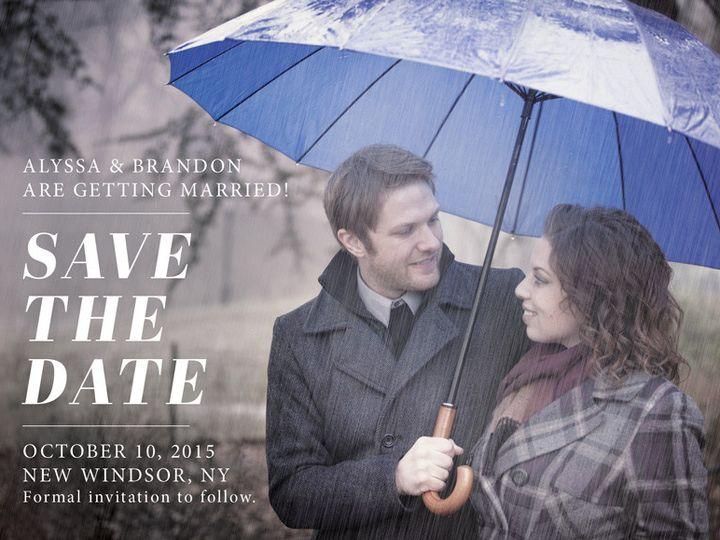 Tmx 1448238430583 Save5x7 Poughkeepsie wedding invitation