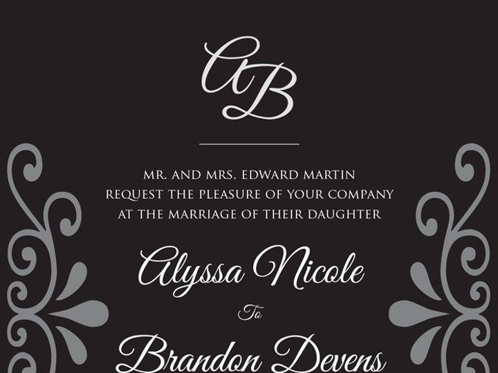Tmx 1448238501787 Weddinginvitationedit2 Poughkeepsie wedding invitation