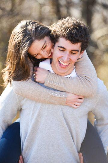 Playful engagement piggyback