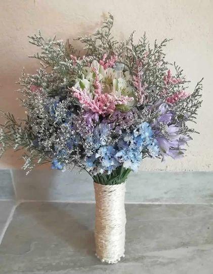 Bridal bouquet - rustic