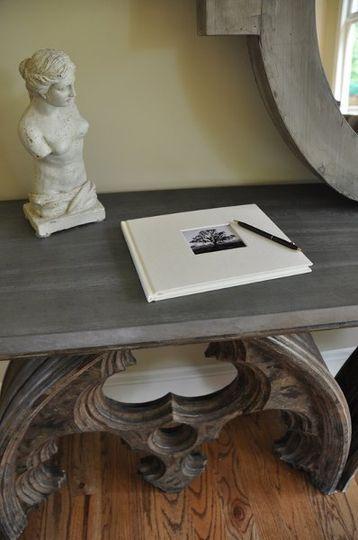 Photo Guest Book awaiting signatures