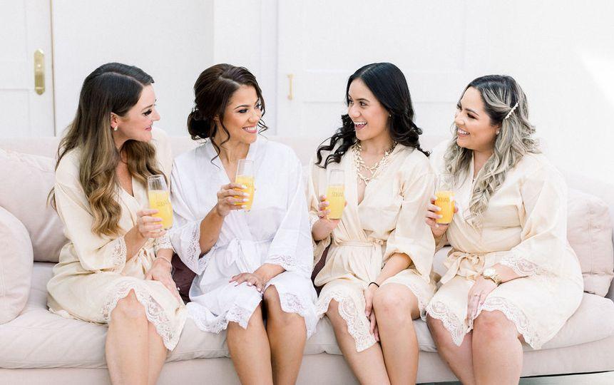 Pre-wedding mimosa