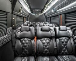 Inside of sprinter