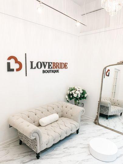 Love Bride Boutique Showroom