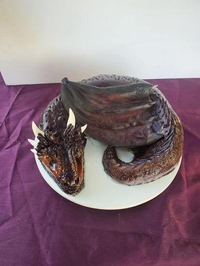 Dragon grooms cake