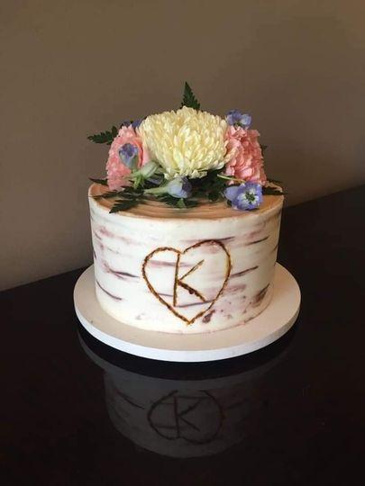 Anniversary smash cake