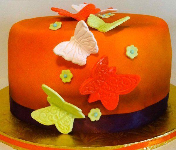 Tmx 1318460847066 ButterflyCake Colonia wedding cake