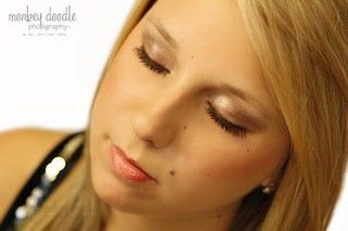 Photo courtesy of Monkey Doodle Photography  Eye makeup done by Makeup by Keri Ann