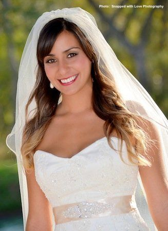 Photo courtesy of Snapped with Love Photography  Makeup by Keri Ann bridal makeup