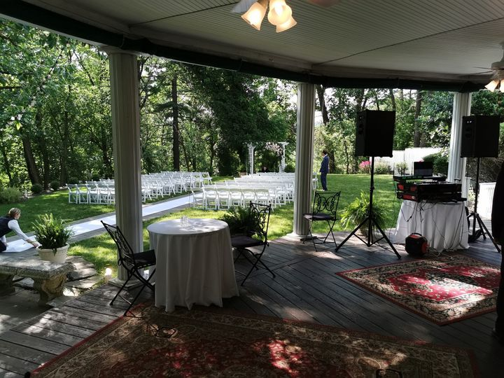 Battery-Powered Ceremony setup