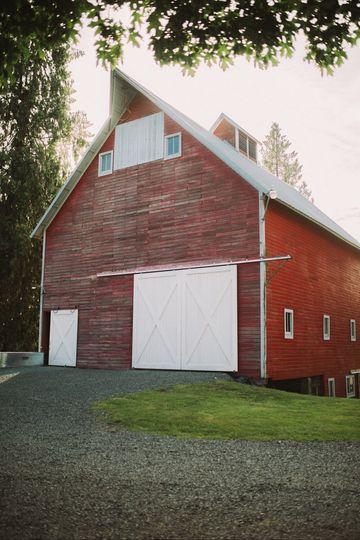 A barn exterior