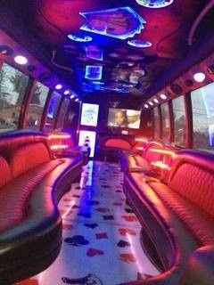 Party Limo Inside