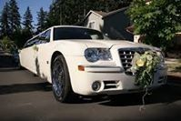 Bridal limousine car