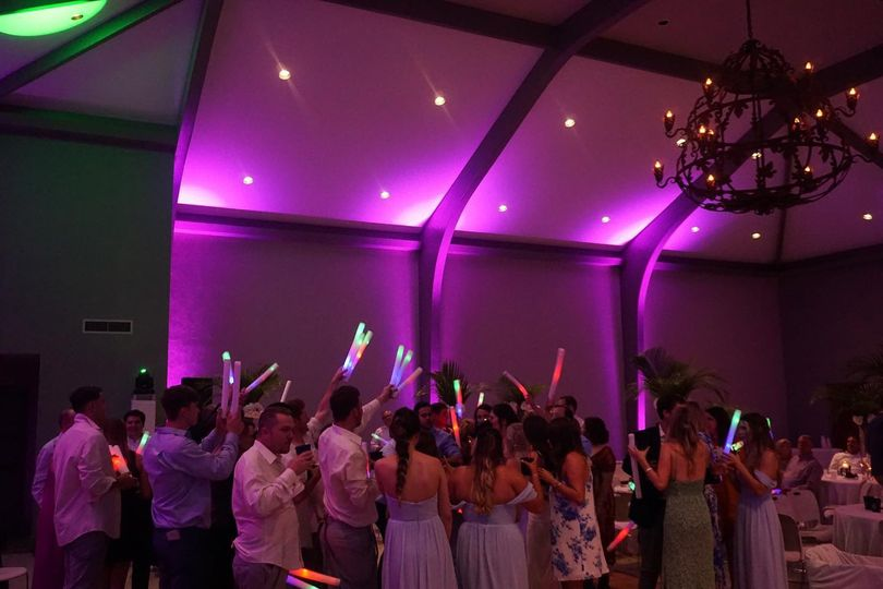 Uplighting and LED sticks
