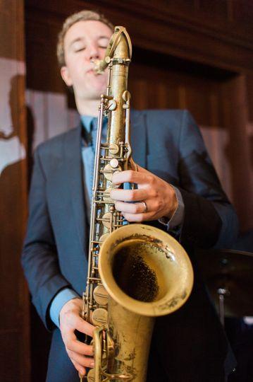 Peter, saxophone