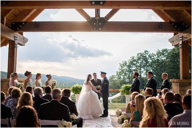 palvilion overlook wedding